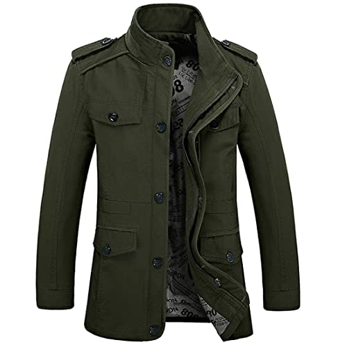 men s military jackets amazon co uk
