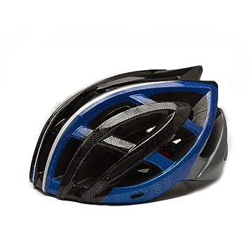 Tnosky Bicicleta con Cascos Ligeros Equipo al Aire Libre Vistoso Ligero Protección Multifuncional de la Motocicleta