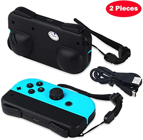 Defway Joy con Grip, soporte de carga para Nintendo Switch Joy-Con ...