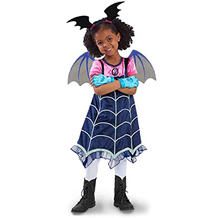 ZLHZYP Disfraz Halloween Disfraces de vampirina Niños Cosplay ...