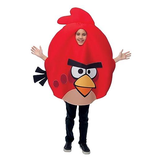 Angry Bird Halloween Costume   Amazon Com Angry Birds Child Costume Clothing
