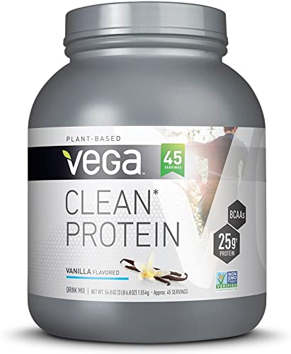 Vega Clean Protein Powder Vanilla 45 Serving