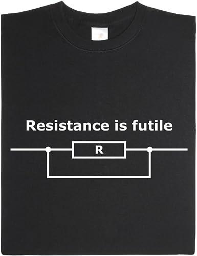 getDigital La Resistencia es inútil V3 - Camisa Hecha de algodón ...