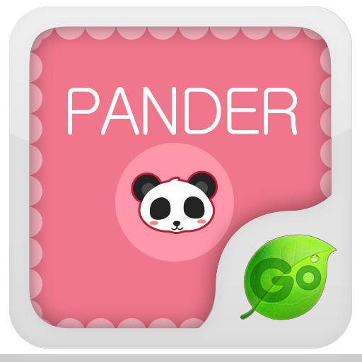 Panda Go Keyboard Theme  Emoji
