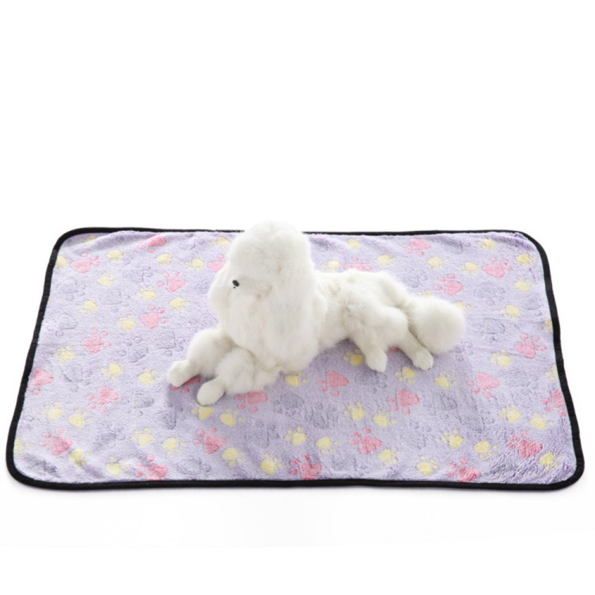 PetBoBo Pet Dog Cat Puppy Blanket Warm Dog Cat Warm Blankets Pet Sleep Mat Pad Bed Cover, Soft Blanket for Pet, Super Soft Micro Plush Pet Blanket Cushion Mat for Animals by PetBoBo (Image #4)