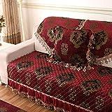 XH@G Simple and modern Furniture Protector Sofa Protector Sofa slip-resistant sofa cover elastic sofa towel , 2 , 90160cm