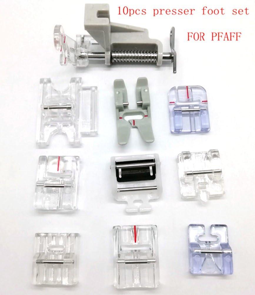 HONEYSEW prensatelas de presión para máquina de coser Pfaff de 9 ...
