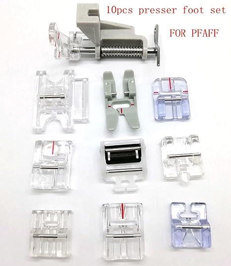 Domestic Sewing Machine NonStick Presser Foot Feet For Pfaff Sewing Machine