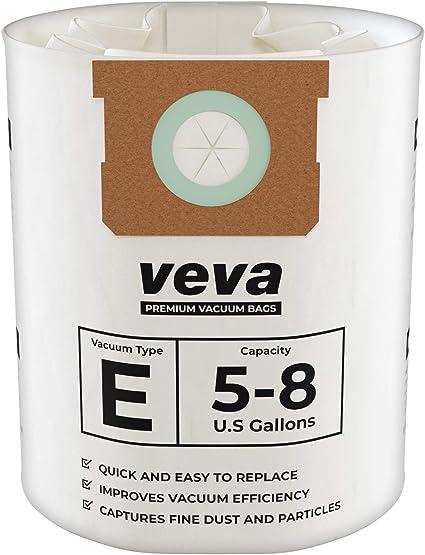 Amazon.com: VEVA Bolsas de filtro de vacío premium tipo E ...