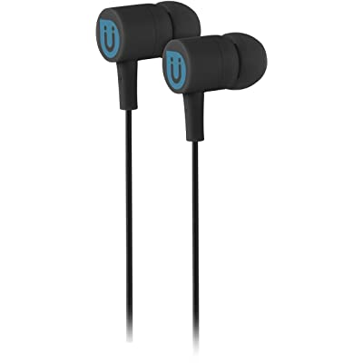 Uber in Ear Wired Earbuds, Comfortable Rubber Headphones, 3.5mm, High Sound Quality, Extra Earbud Tips, for Apple iPhone, iPad, iPod, Android Smartphones, Samsung Galaxy, Tablets & More, Black, 13124: Electronics