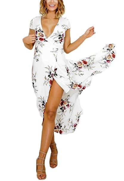 Vestidos flores largos amazon
