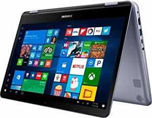 "2018 Premium Samsung 7 Spin Business 13.3"" 2-in-1 FHD Touchscreen Business Laptop/Tablet - Intel Dual-Core i5-8250U 8GB DDR4 256GB SSD Windows Ink Backlit Keyboard Fingerprint Reader USB Type-C Win 10"