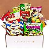Premium Asian Snack Box | Japanese Snacks | Variety Assortment of Japanese Candy | Korean Snacks | Chinese Snacks | College Care Package (Asian Snack Box, 20 Count, Gift Package)