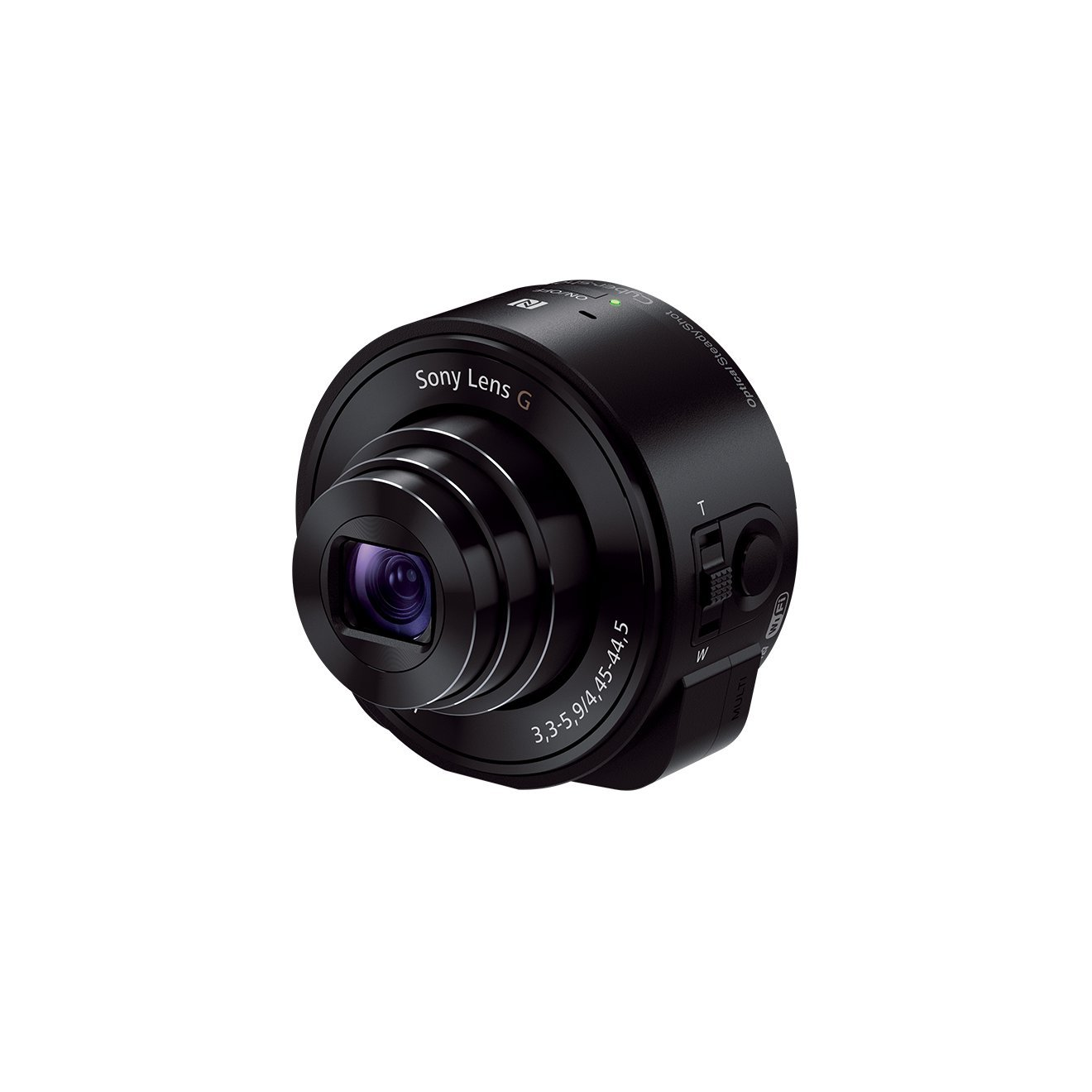Sony DSC-QX10/B Smartphone Attachable 4.45-44.5mm Lens-Style Camera by Sony