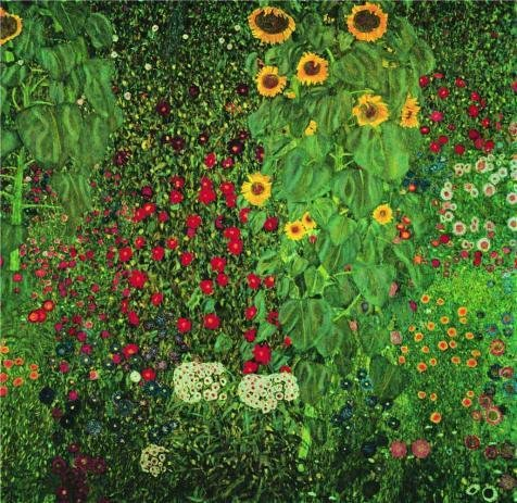 Oil Painting 'Farm Garden With Sunflowers, C.1912', 24 x 25 inch / 61 x 63 cm , on High Definition HD canvas prints is for Gifts And Bed Room, Gym - Bauhaus Sunglasses Smith