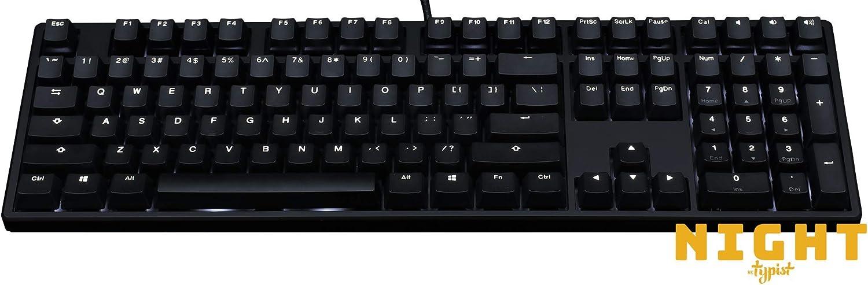 Mk Night Typist Tastatur Cherry Mx Silent Red Computer Zubehör