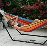 Da Vinci Single Cotton Hammock, Outdoor Stuffs
