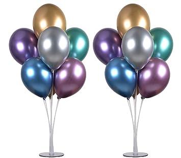 PILIN Kit de soporte de globos de mesa de 28
