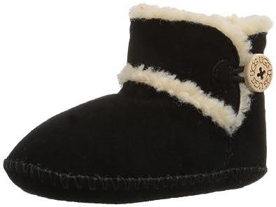 UGG Kids I Lemmy Boot, Black, 0/1 M US Infant