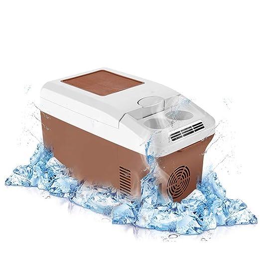 Mini nevera portátil de viaje, 15 L, apta para frío/calor ...