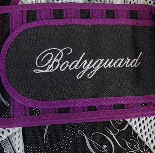 Rückenprotektor Safine Bodyguard (Farbe / Größe: 900 schwarz/lila L - bis 176cm (ca.45,5cm) 42-44)