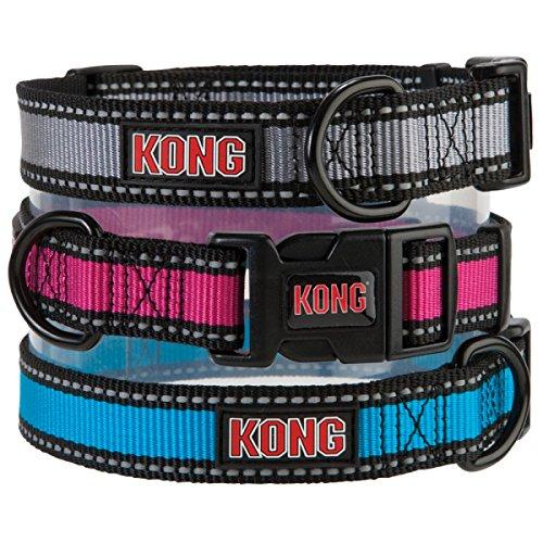 Kong Reflective Collar Small Blue