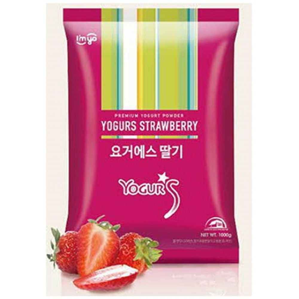 Imyo Yogurs Strawberry Powder 1Kg Yogurt
