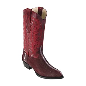 Men's J-Toe Genuine Stingray Cowboy Boots​