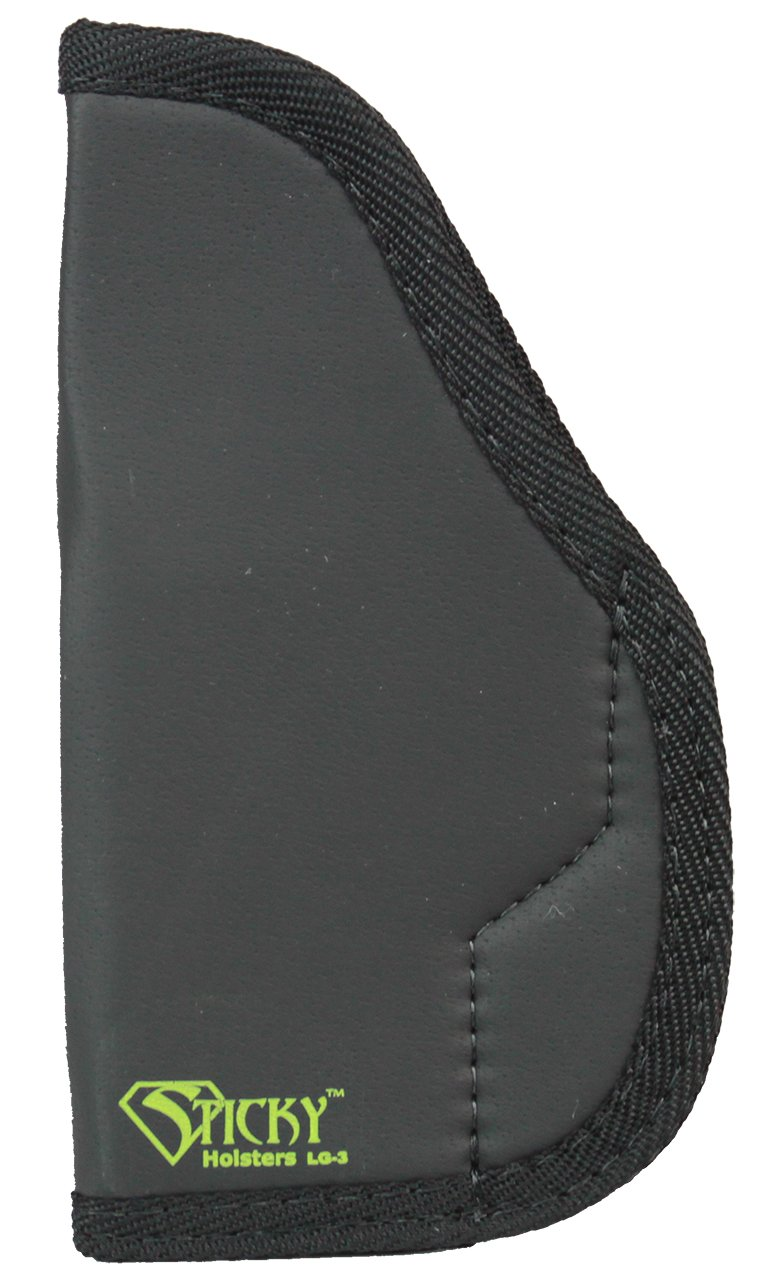 Sticky Holsters Lg-3 Large Lg-3, Black by Sticky Holsters