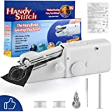 FIFADE Portable Sewing Machine, Mini Sewing Professional Cordless Sewing Handheld Electric Household Tool - Quick Stitch…