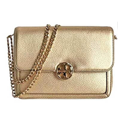 52922a7530 Tory Burch Crossbody Duet Chain Micro Shoulder Bag Gold: Handbags:  Amazon.com