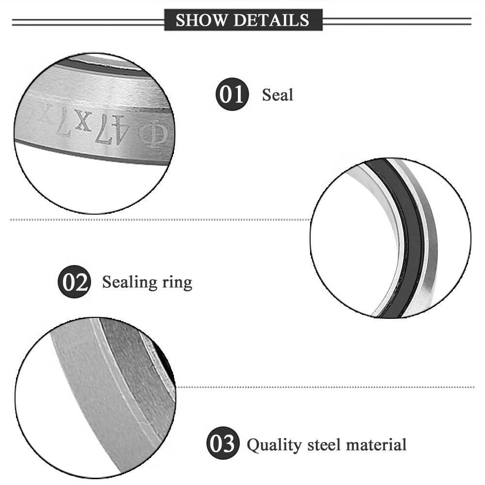 VGEBY Bike Bearings Steel Ring Wheel Bearings Steering Stem Bearings 41mm