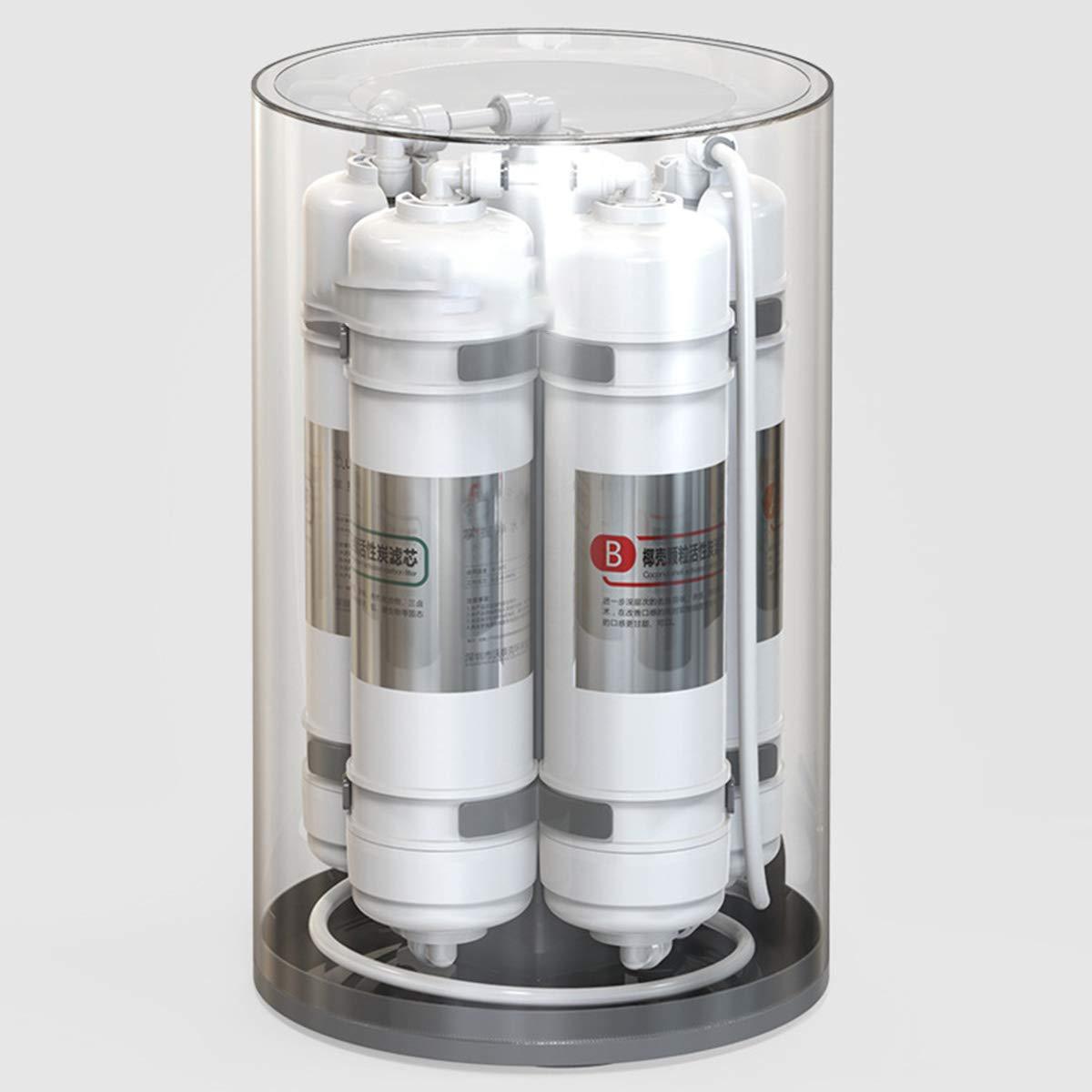 CCChaRLes Sistema De Filtro De Agua De 5 Etapas Grifos De Cocina Para El Hogar Purificador De Carbón Activado ...