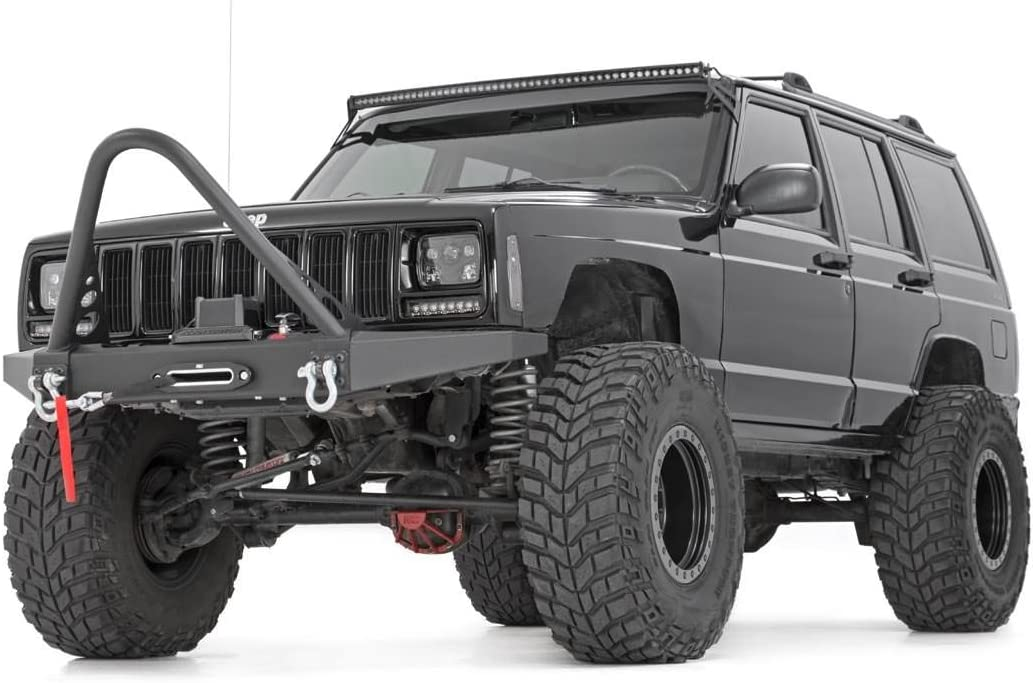 84-01 Cherokee XJ 4WD 63330-4.5-inch X-Series Suspension Lift System w//Premium N3 Shocks for Jeep Rough Country