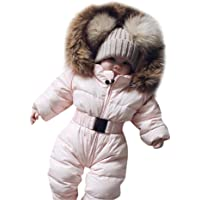 941dfb0f93d9 SOWU Toddler Down Jacket Jumpsuit Baby Girls Boys Winter Warm Romper  Jumpsuit Snowsuit Thicken Coat Outfits