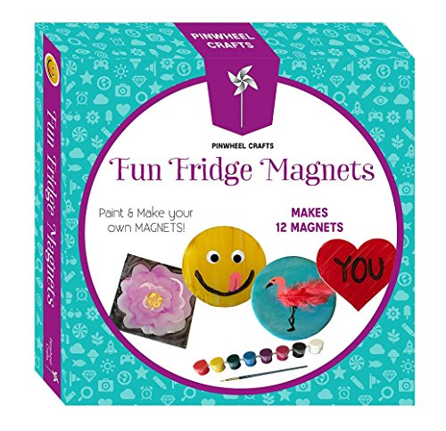 Fun Fridge Magnets Pinwheel Crafts product image