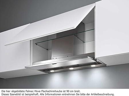 Falmec Design Campana extractora empotrada Move-Negro-Empotrada 120cm: Amazon.es: Hogar
