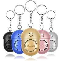 ELZO Alarma Personal, 5 Piezas 140DB Alarma Seguridad