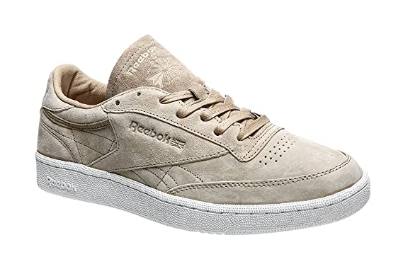 0c92362b65f Reebok Club C 85 Boots In Beige Suede BD1897  Amazon.co.uk  Shoes   Bags