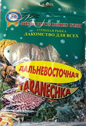 "(Pack of 3) ""Taranechka"" (Dried Fish) ""Thailand"", Vacum Packed in Plastic Bag."