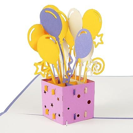 Tarjeta de cumpleaños 3D