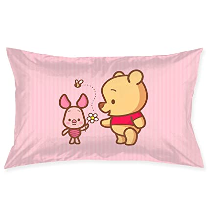 Amazon Com Pillow Cases Pink Winnie The Pooh Throw Cushion Covers