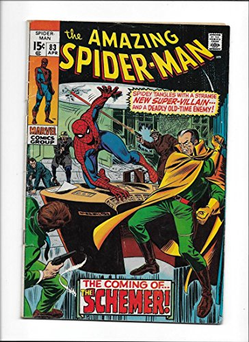 """AMAZING SPIDER-MAN #83 [1970 VG-] """"THE COMING OF...THE SCHEMER"""""""