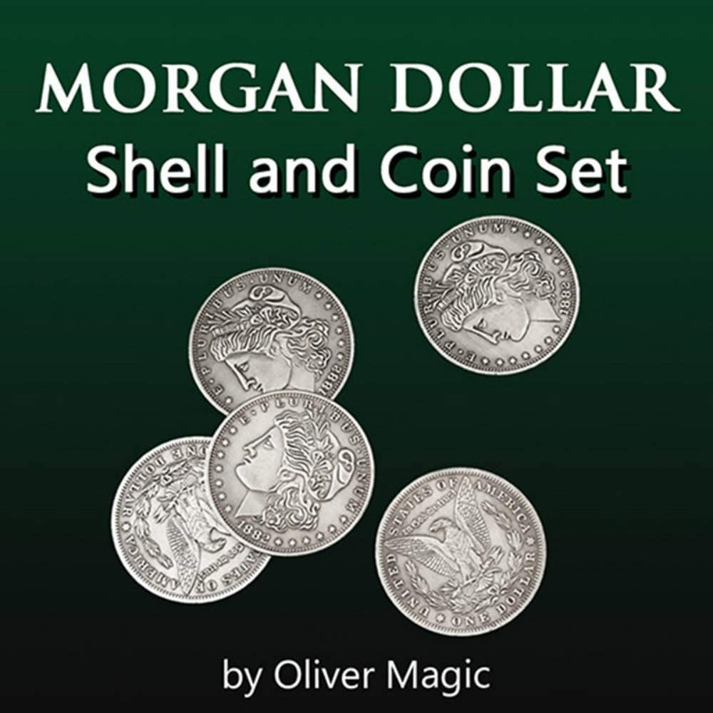 Image result for Morgan Dollar Shell and Coin Set