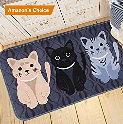 cat door mats great gifts for cat loverscat door mat runner inserts indoor outdoors natural easy clean cute cat floor rug door mats