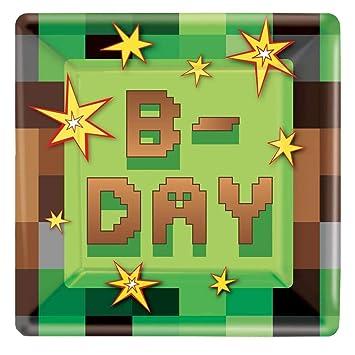 Amazon.com: Minecraft 'TNT Party' Large Paper ...