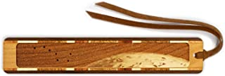 product image for Big Dipper, Ursa Major with Earth - Outer Space Engraved Wooden Bookmark with Suede Tassel