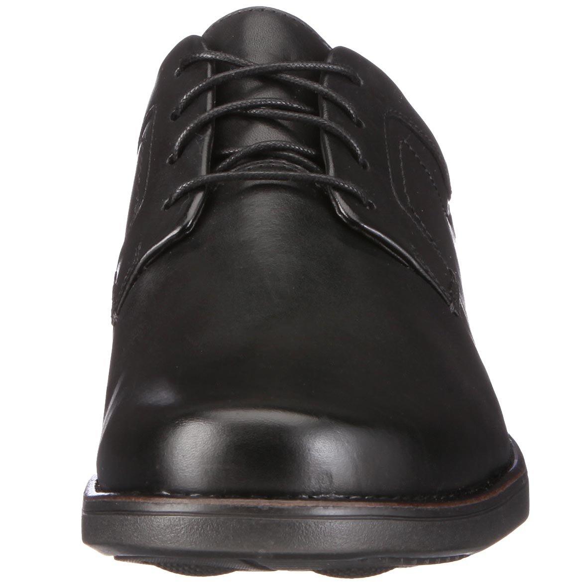 Clarks Carter Air Herren Leder) Derby Schnürhalbschuhe Schwarz (schwarz Leder) Herren 841e26