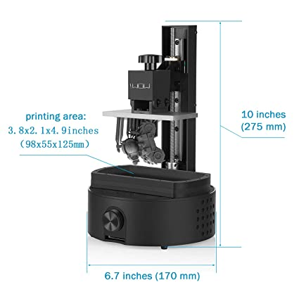 Amazon.com: Sparkmaker Impresora 3D de alta resolución ...