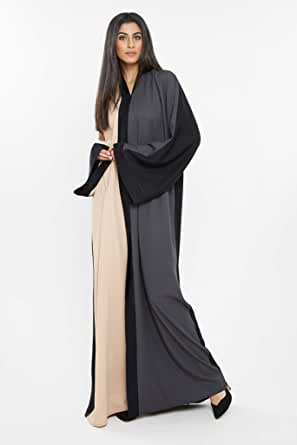 Nukhbaa Multi Color Casual Abaya For Women